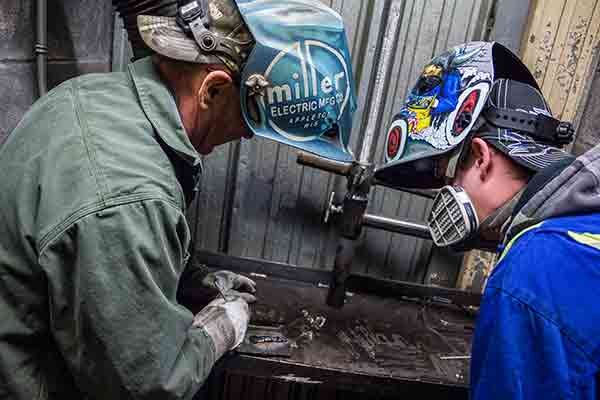 Trying For Welders - Ready Arc Training and Testing